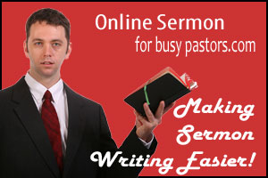 Online Sermon For Busy Pastors